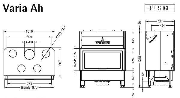 bodemprijs voor de spartherm varia ah 3s bij het stokertje. Black Bedroom Furniture Sets. Home Design Ideas