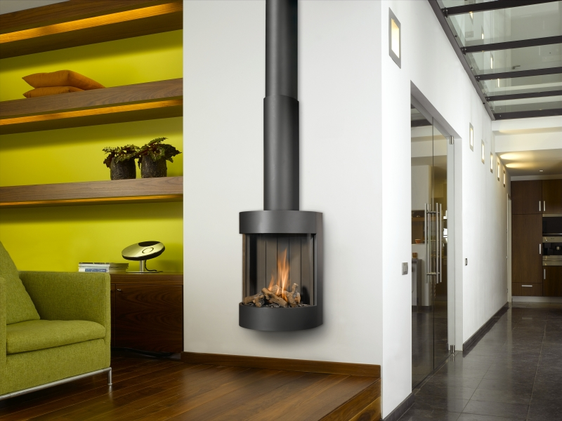 Keuken Schouw Almere : Wall Mounted Gas Fireplace