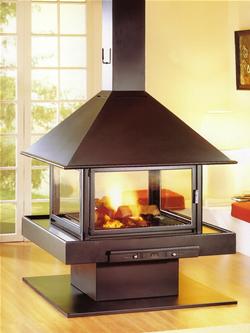 Glas voor houtkachel verwarming van het huis met brandhout for Kachelglas