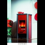 Wodtke Loft Two Red Papaya Glas Black