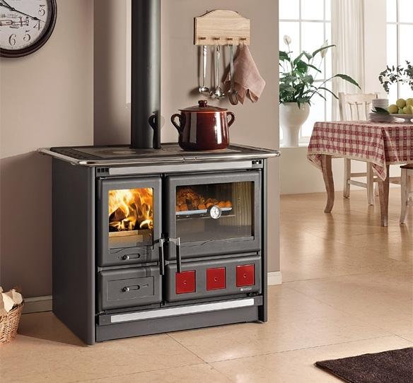 la nordica extraflame rosa xxl houtkachel 39 t stokertje. Black Bedroom Furniture Sets. Home Design Ideas