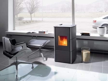 wodtke ray s4 vlakke deur metallic waterplus pelletkachel. Black Bedroom Furniture Sets. Home Design Ideas