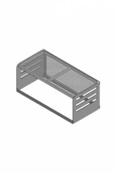 Multiwall 60cm RVS barbecuerooster type HF