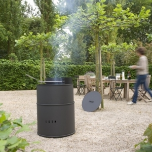 Tulp Barrel barbecue vuurkorf
