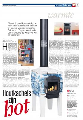 Algemeen Dagblad Houtkachels zijn hot 29 september 2012